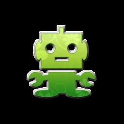 Robot clipart green » » 3 2