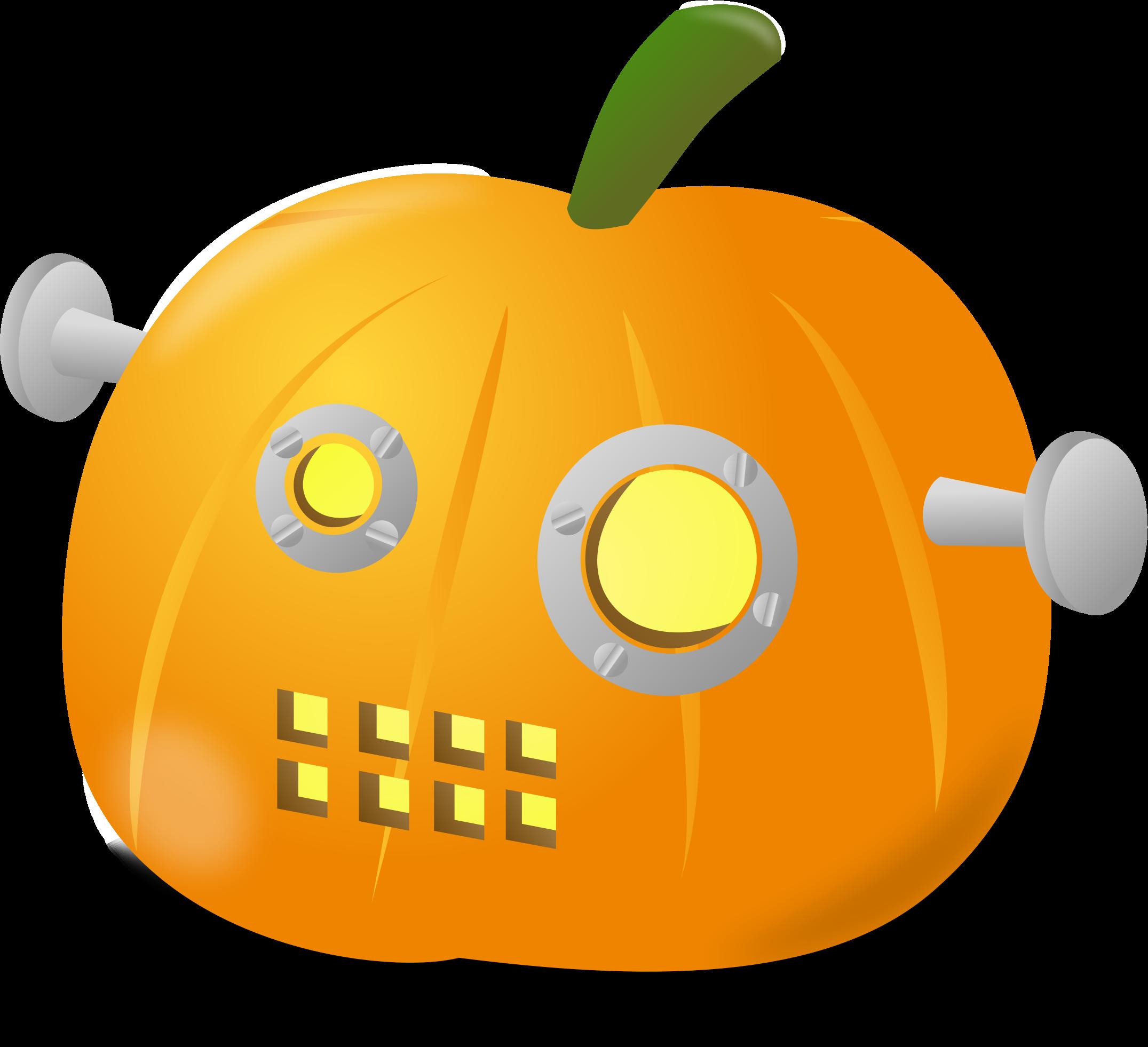 Robot clipart halloween #7