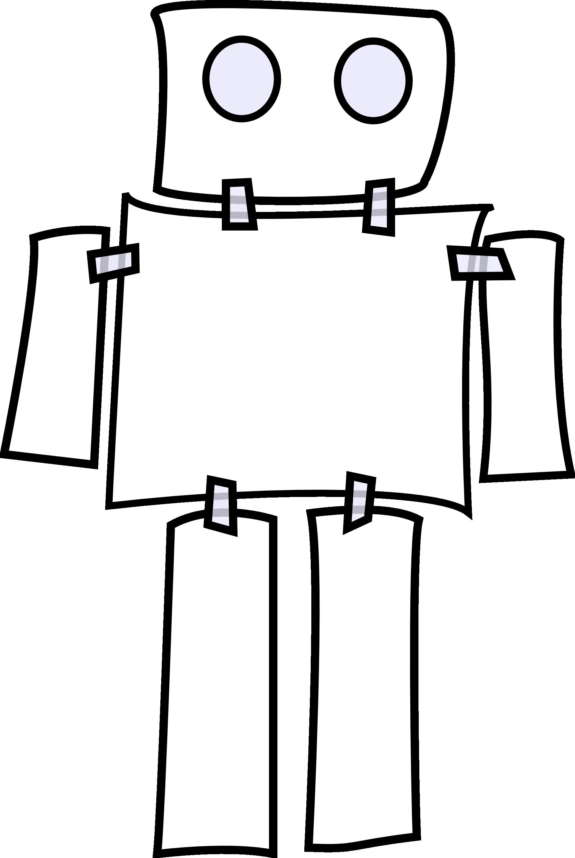 Robot clipart halloween #9
