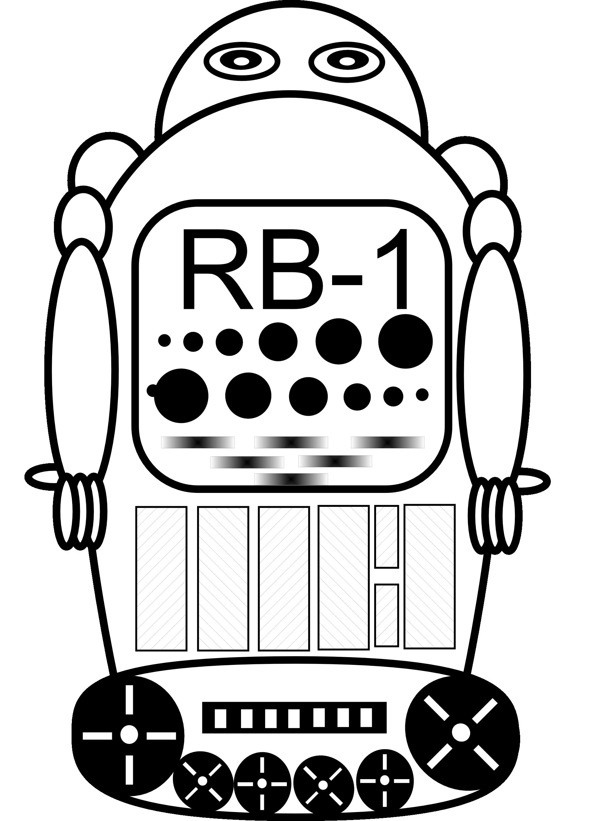 Robot clipart halloween #8