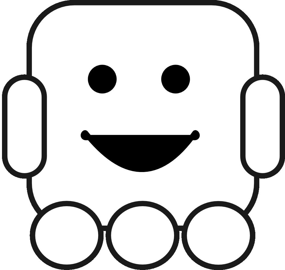 Robot clipart halloween #6