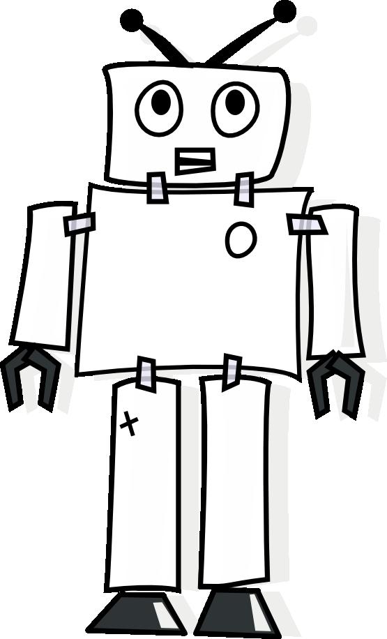 Robot clipart halloween #3