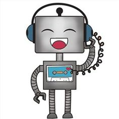 Robot clipart happy PAGE HER ON {MANY Robot
