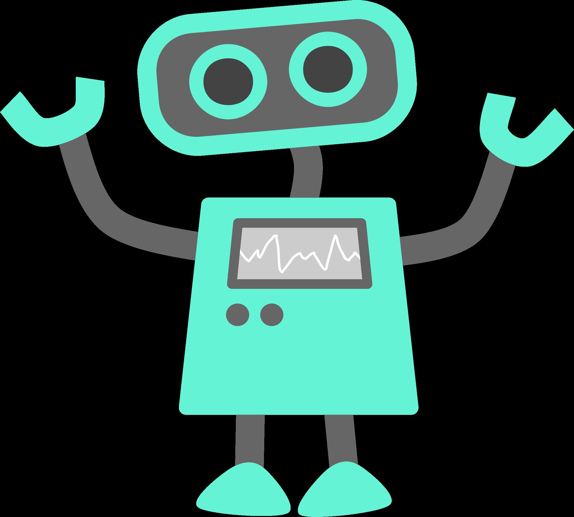 Robot clipart happy  Desktop Phone Sci Fi