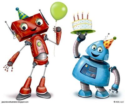 Robot clipart happy Robot clipart best clipart this