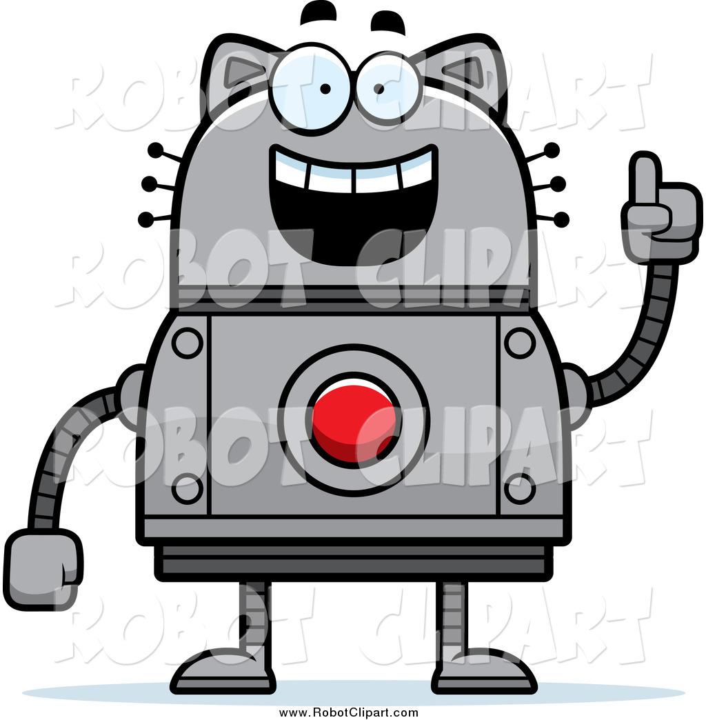 Robot clipart happy Happy Smart a Cat of