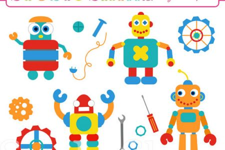 Robot clipart nuts and bolt Bolts And > clipart For