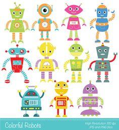 Robot clipart robot gear #13