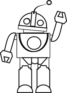 Toy clipart toy robot #7