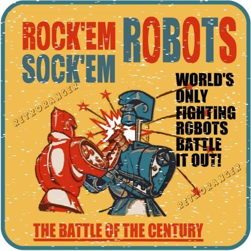 Robot clipart rockem sockem More Printables this on Robots
