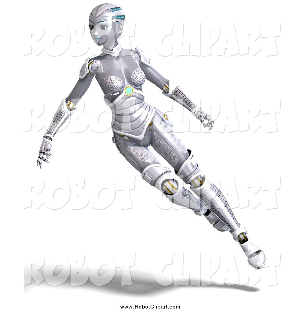 Futuristic clipart female #1