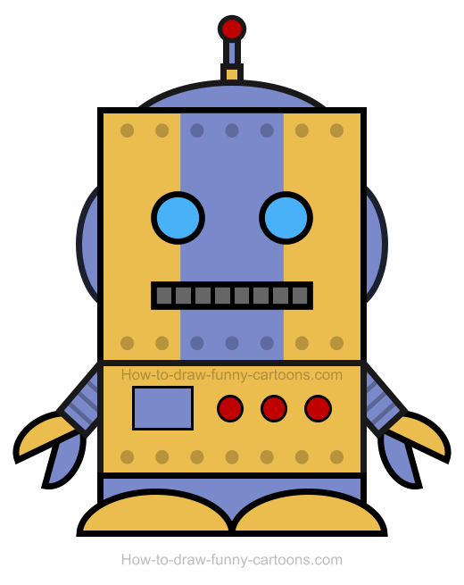 Robot clipart small Clipart Robot How To A