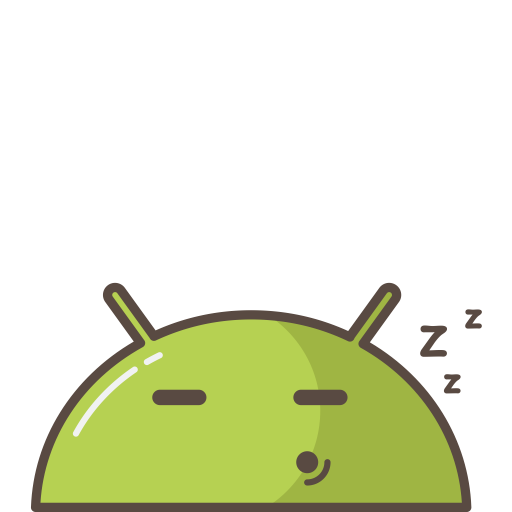 Robot clipart tired Tired Sleeping robot icon Size