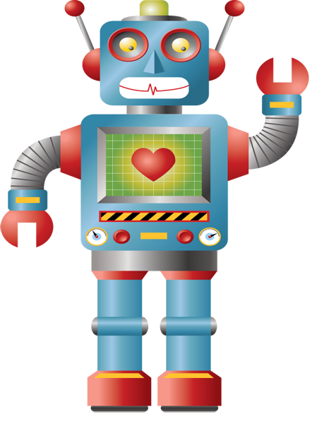 Toy clipart toy robot #3