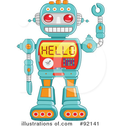Toy clipart toy robot #5
