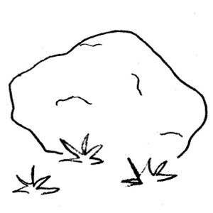 Rock clipart dull #7