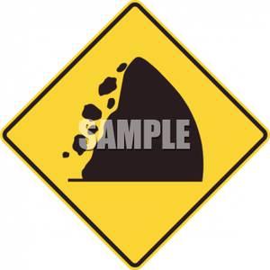 Rock clipart falling rock #15