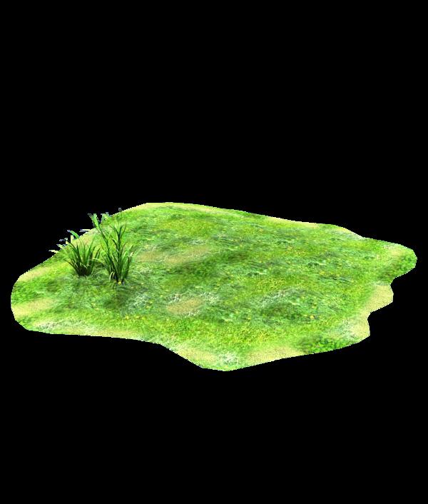 Rock clipart grass patch #14