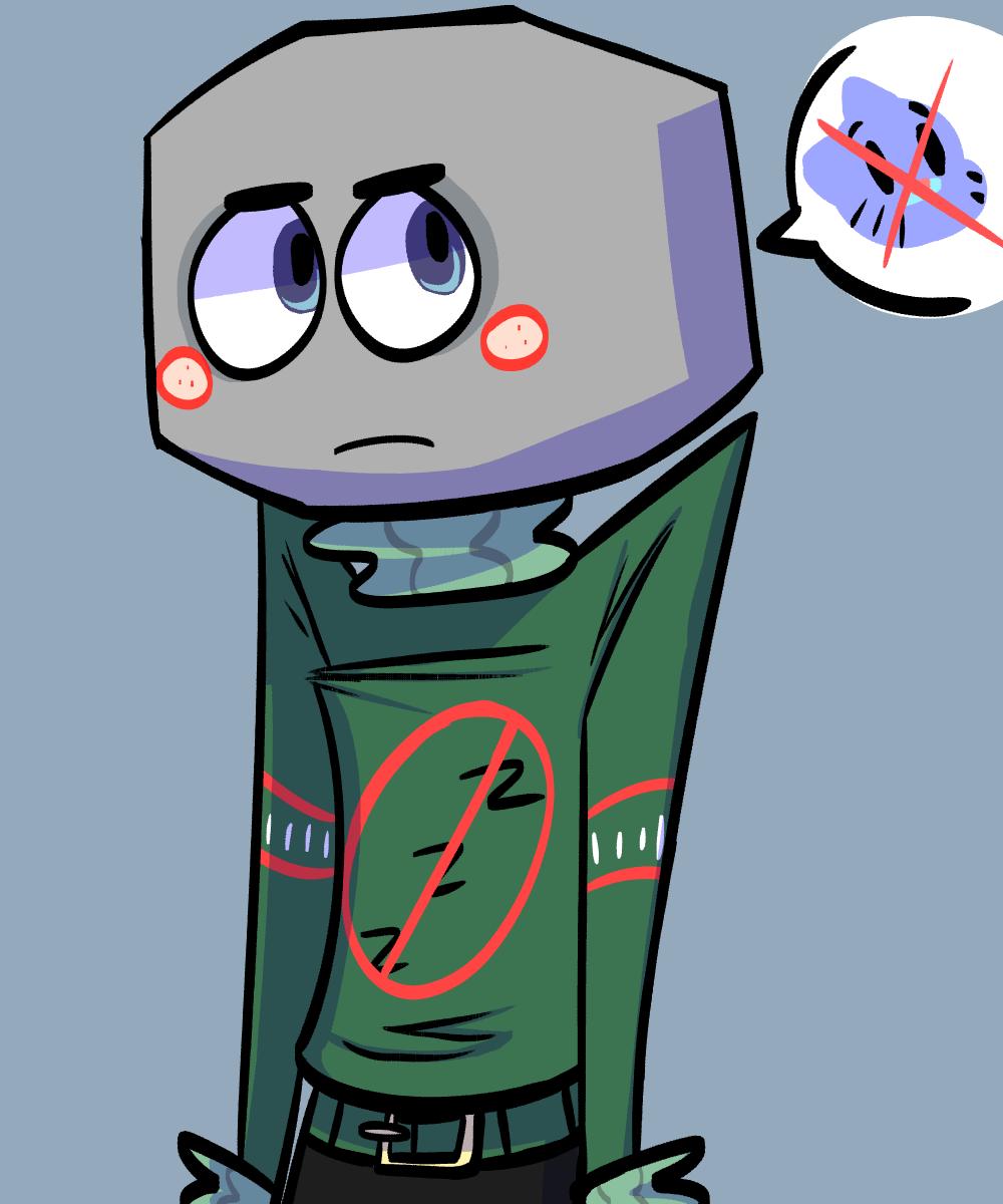 Rock clipart grumpy #8