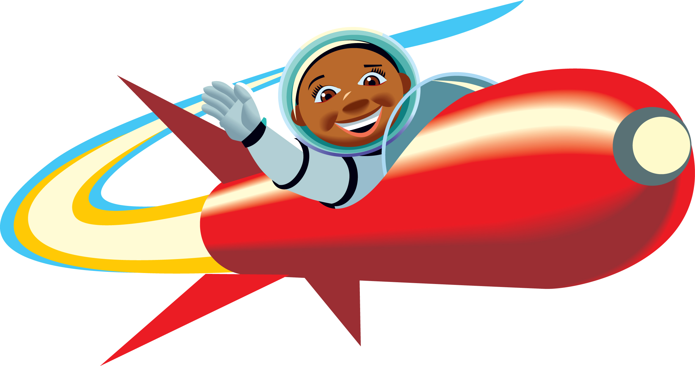 Rocket clipart Free pics clip about space