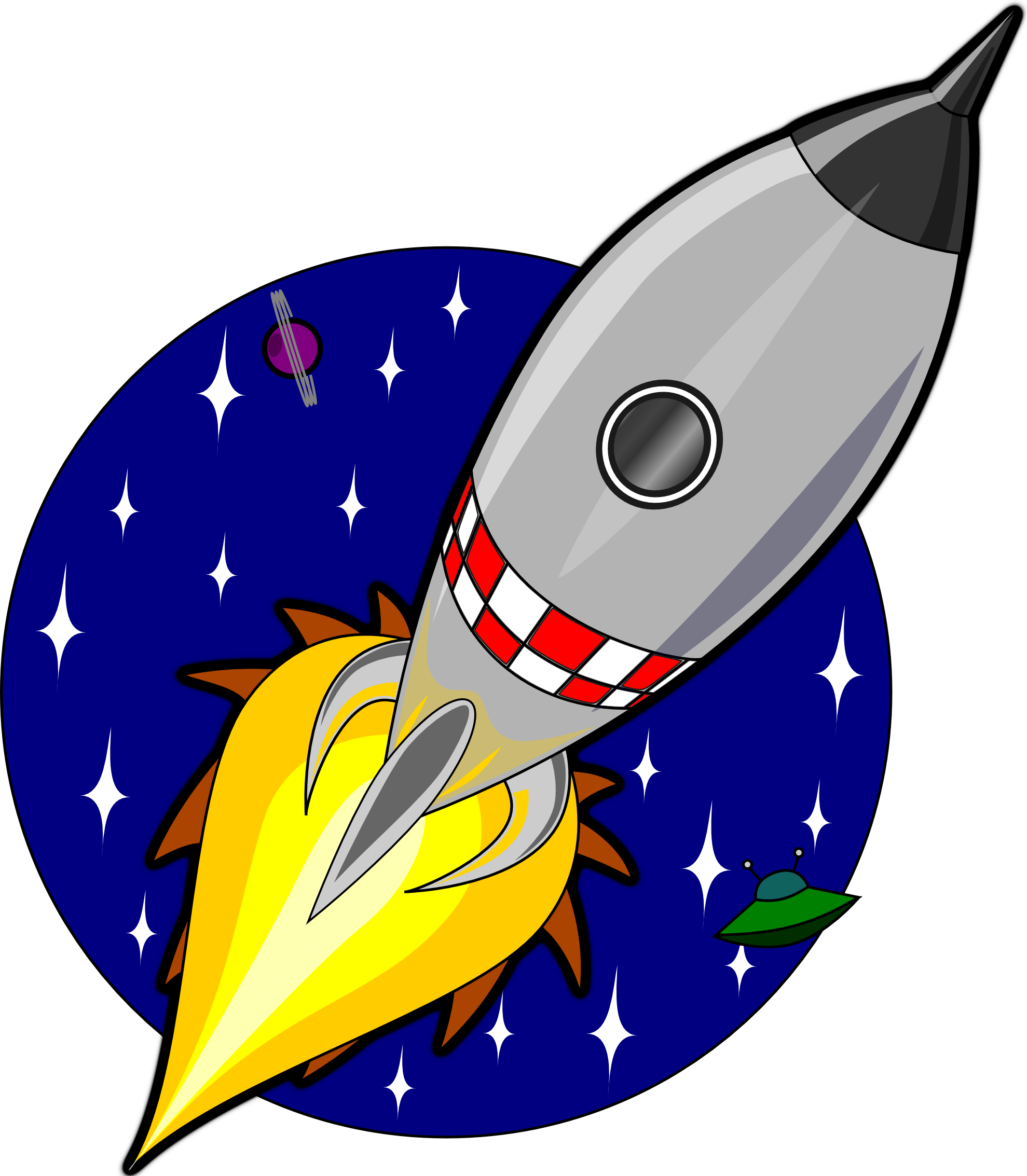 Rocket clipart Cliparting art cliparts inspiration Rocket