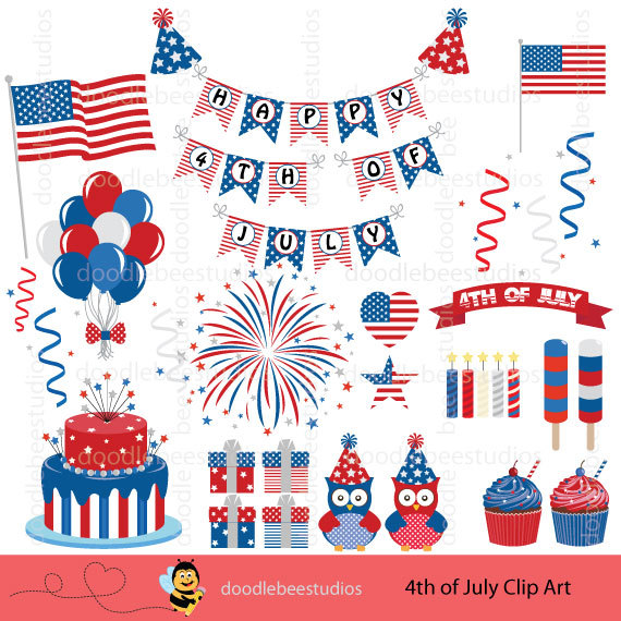 American Flag clipart independence day july 4th Clipart Art Art Day Clipart