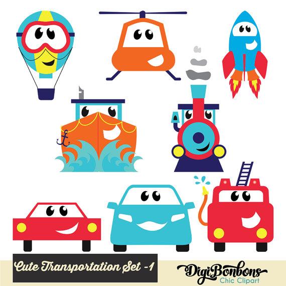 Rocket clipart air transportation Car Art Air Cute Clipart