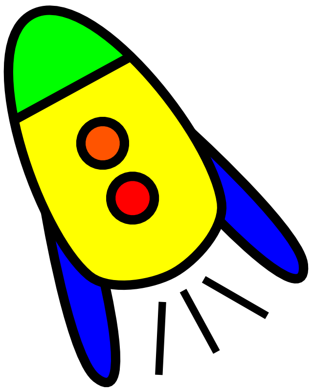 Rocket clipart animated Free  Art Very Rocket