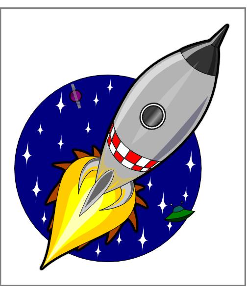 Rocket clipart cartoon Clker Clip com image clip