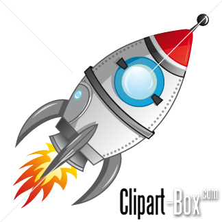 Rocket clipart cartoon Pinterest monsters  ROCKET robots