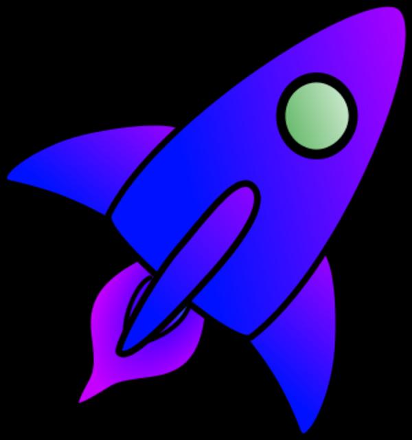 Rocket clipart cartoon Art clip space art clipart