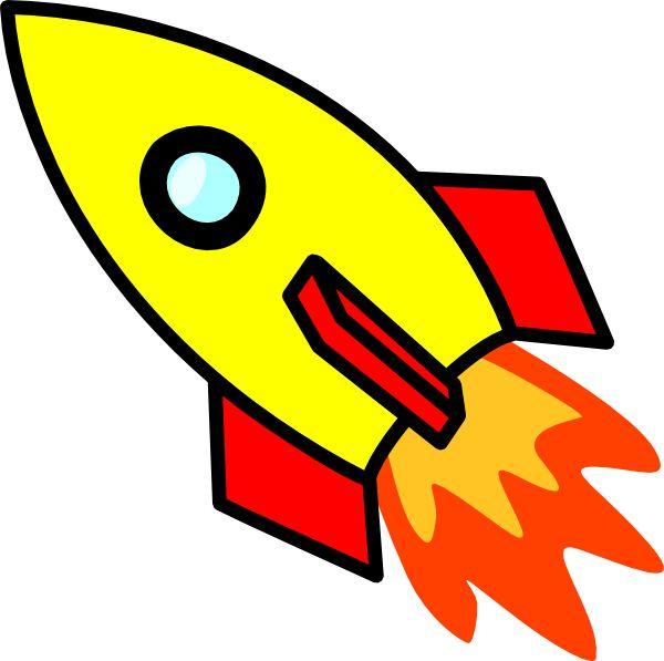 Rocket clipart cartoon Rockets best on Of about