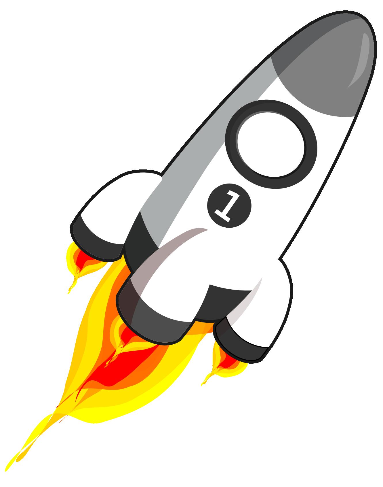 Rocket clipart cartoon Art rocket free art 2