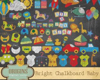 Rocket clipart chalkboard Chalkboard Space Chalkboard Clipart Bright