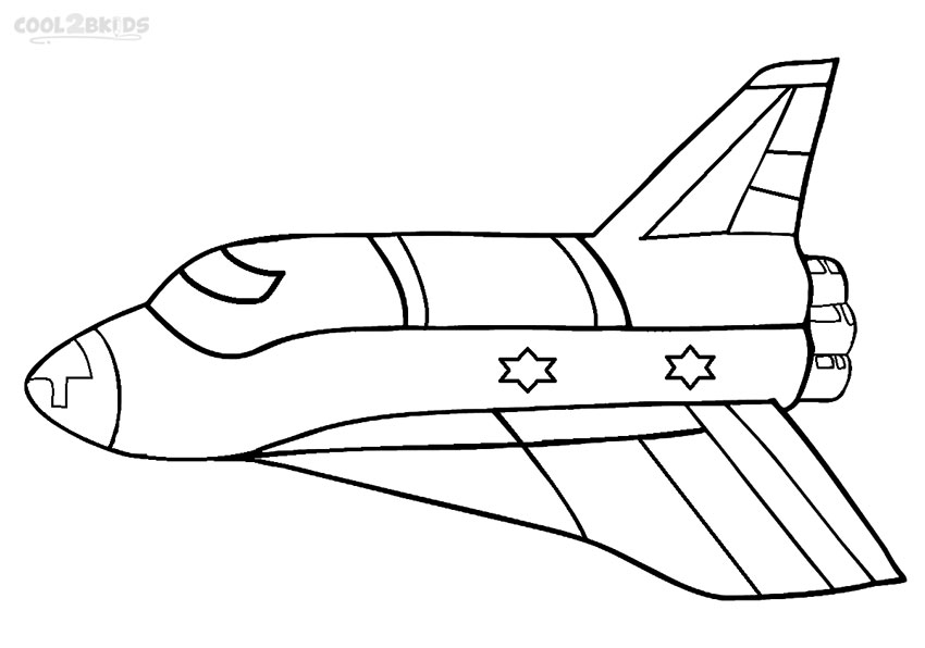 Drawn spaceship coloring page Ship Rocket 2017 Coloring Outline