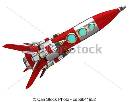 Missile clipart space rocket Stylized rocket csp6841952 Space Steel