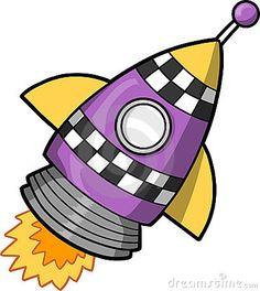 Rocket clipart face Design about Rocket Cartoon Space
