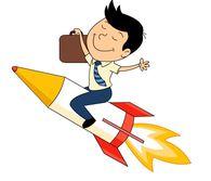 Rocket clipart face Illustrations clipart 44 Clipart businessman