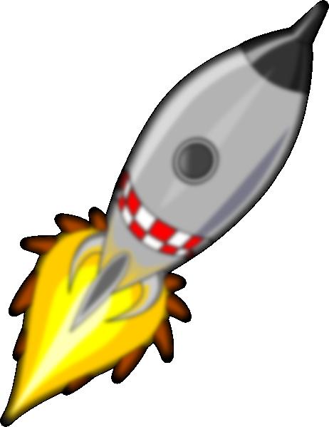 Rocket clipart liftoff Clker  Clip My image