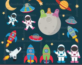 Missile clipart astronaut #4