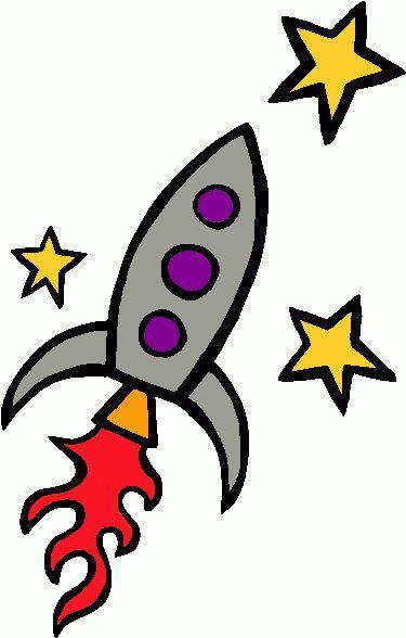 Rocket clipart plain #5