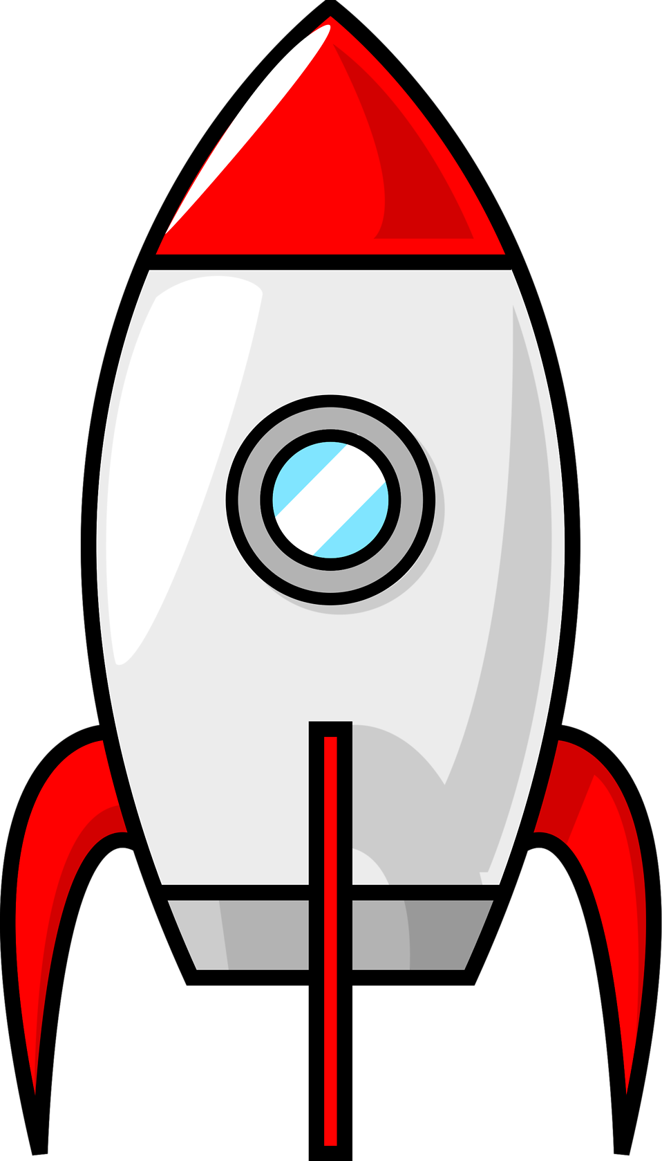 Rocket clipart red rocket 16617 : a of Photo