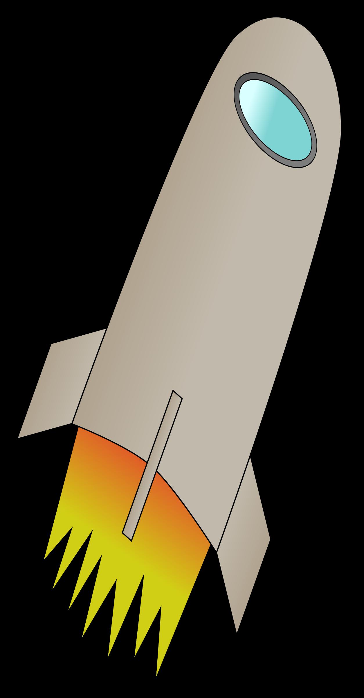 Rocket clipart rocket fire Whit Fire Whit Space Rocket