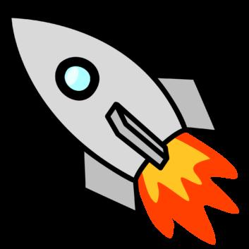 Rocket clipart rocket fire Clipart Favorite Cool com Free