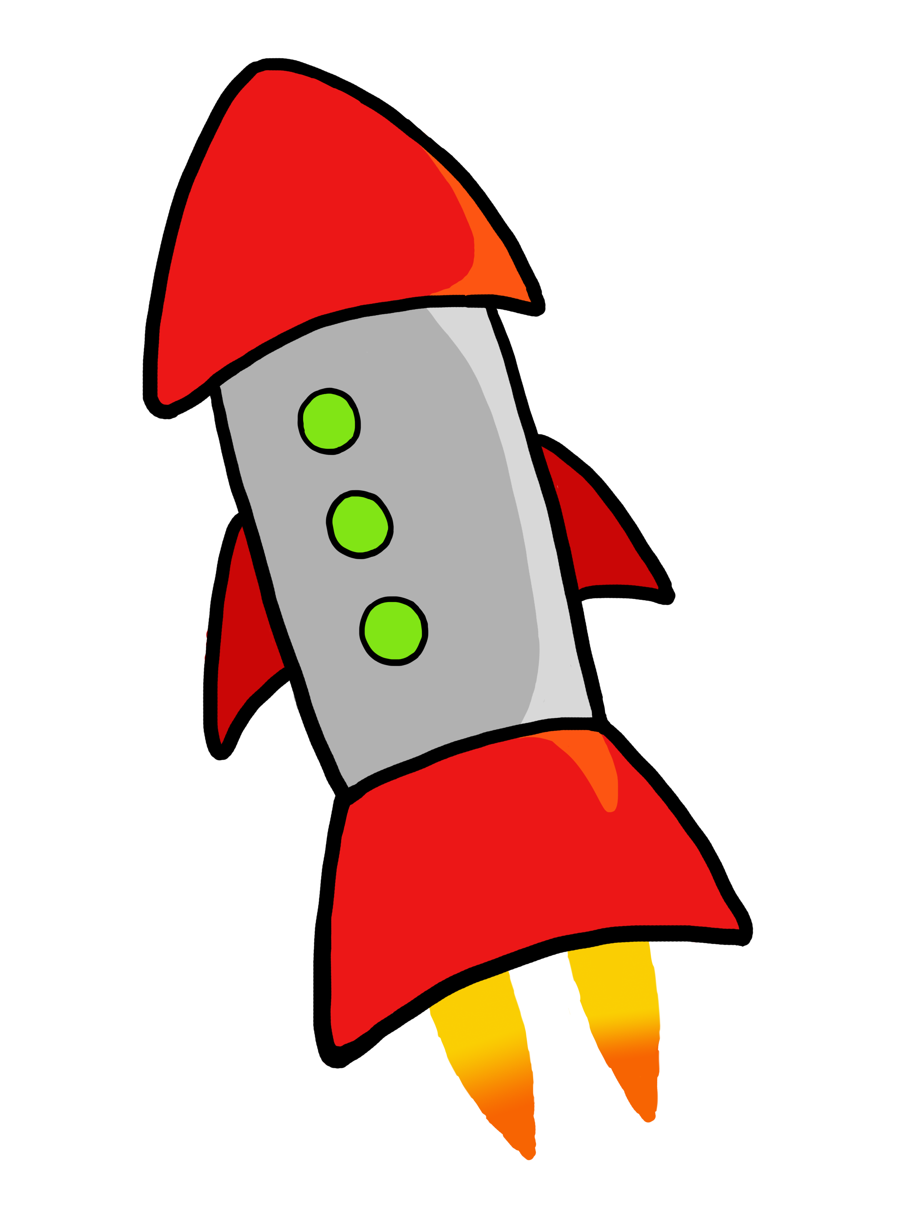 Missile clipart astronaut #7