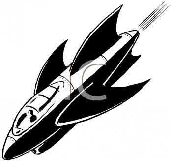 Sci Fi clipart rocket ship #15