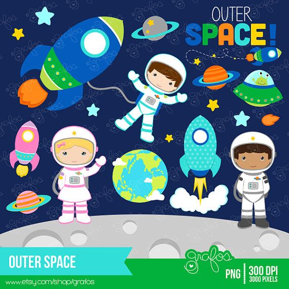 Missile clipart astronaut #5