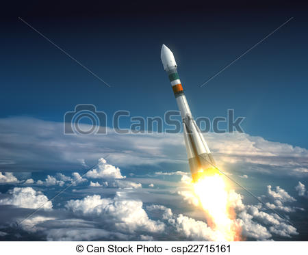 Rocket clipart takeoff #11