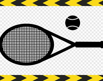 Rocket clipart tennis #8