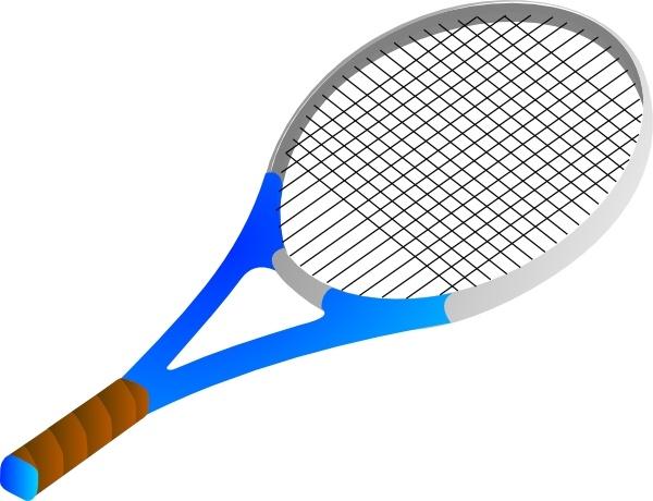 Rocket clipart tennis #4